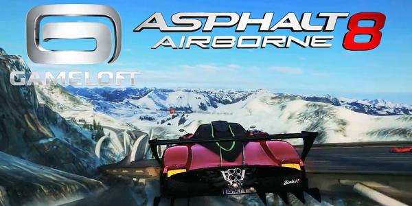 Asphalt 8 Airborne v2.9.0h Android Türkçe Hileli Mod APK