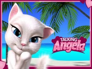 Benim Konuşan Angela Android Hileli Mod Apk İndir