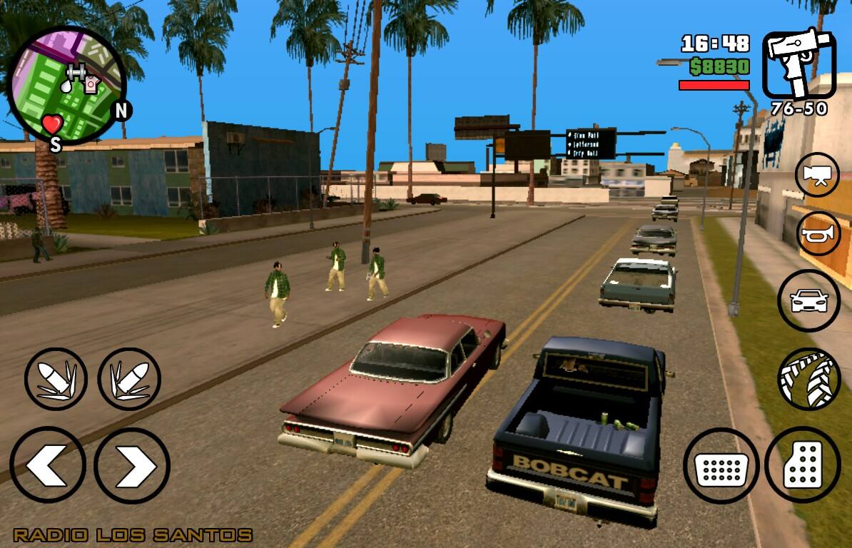 Gta San Andreas Android V6 6 Full Hileli Apk Indir Full