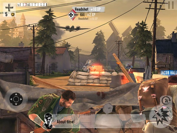 Brothers in Arms 3 Android v1.3.1f Hile Mod Apk indir