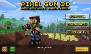 Pixel Gun 3D Android Para Hile Mod Apk Data İndir
