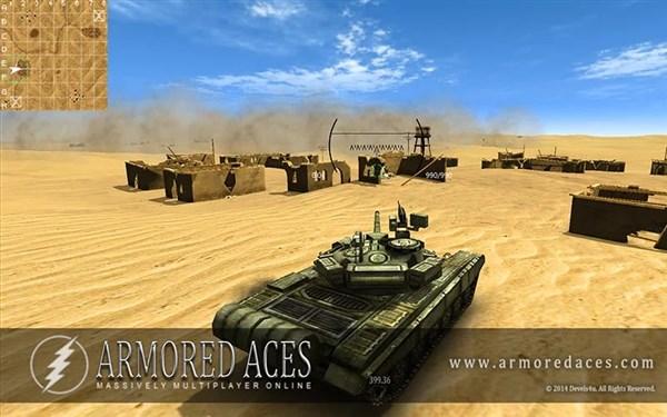 Armored Aces 3D Tank Battles Hile Mod Android Apk indir