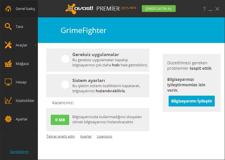 Avast Premier 2015 Turkce indir