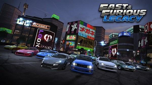 Fast Furious Legacy Apk indir