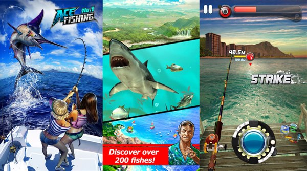 Ace Fishing Wild Catch android apk