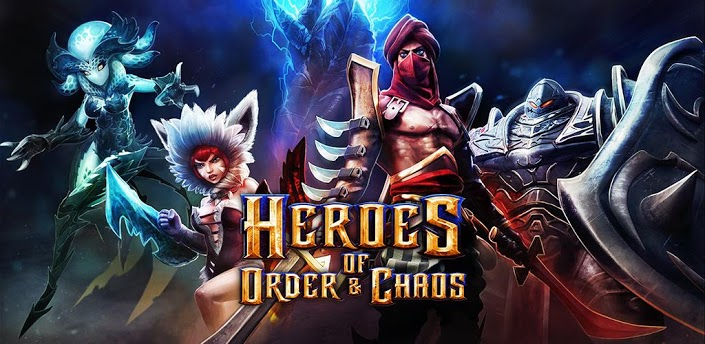 Heroes of Order & Chaos Android Apk indir