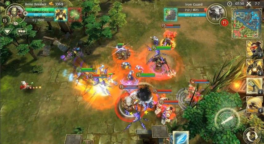 Heroes of Order & Chaos apk indir