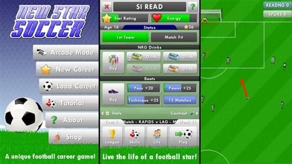 New Star Soccer Android Para Hileli Apk indir