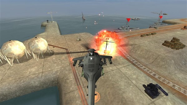 GUNSHIP BATTLE Helicopter 3D Android Hile Apk indir
