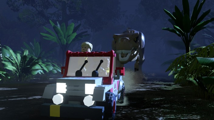 Lego Jurassic World full