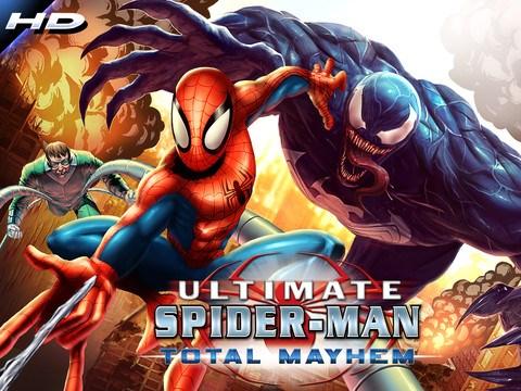 SpiderMan Total Mayhem Android Apk indir