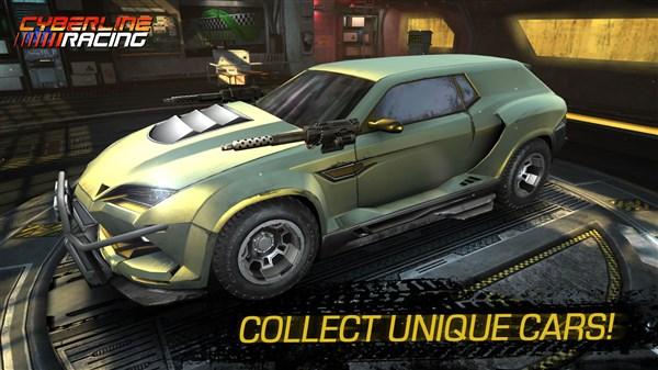 Cyberline Racing hile apk