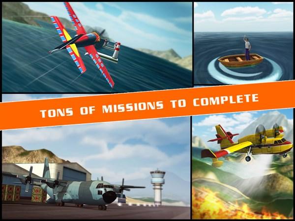 Flight Pilot Simulator 3D hile apk indir