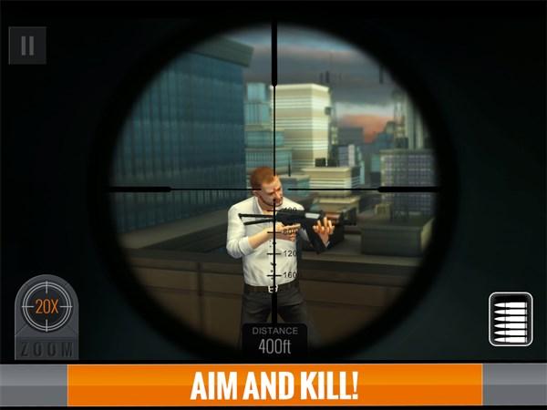 Sniper 3D Assassin Free Games hile apk indir