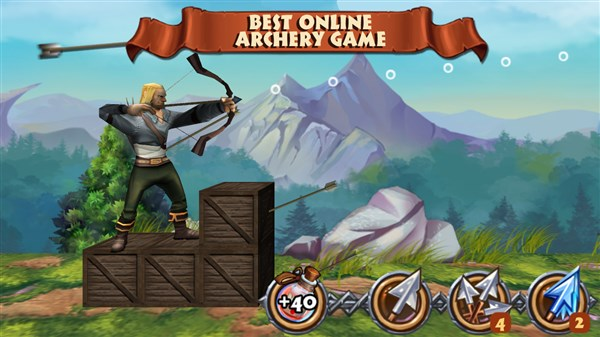 Archers Clash Multiplayer Game Hileli Apk indir