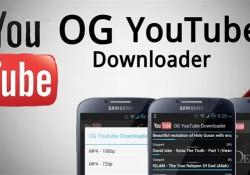 OG Youtube Downloader Android v2.0 Apk