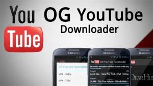 OG Youtube Downloader Android Apk indir