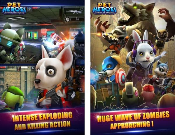 Action of Mayday Pet Heroes Hile Apk indir