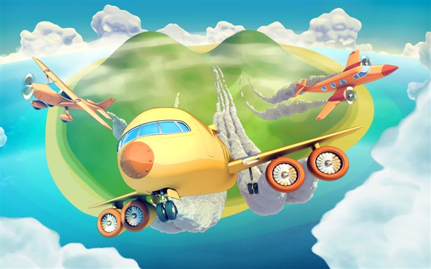 City Island Airport Android Hileli Apk