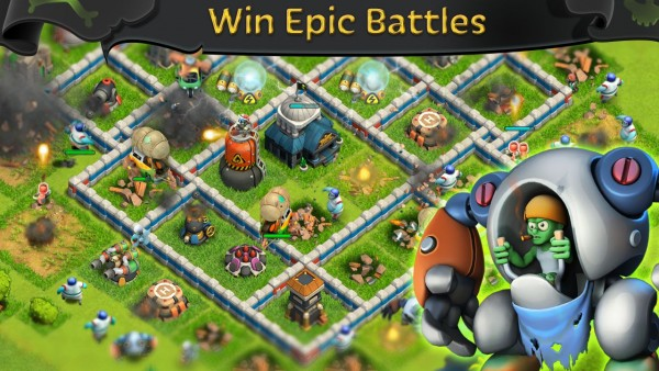 Battle of Zombies Clans MMO Apk