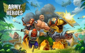 Army of Heroes Android Hileli Mod Apk indir