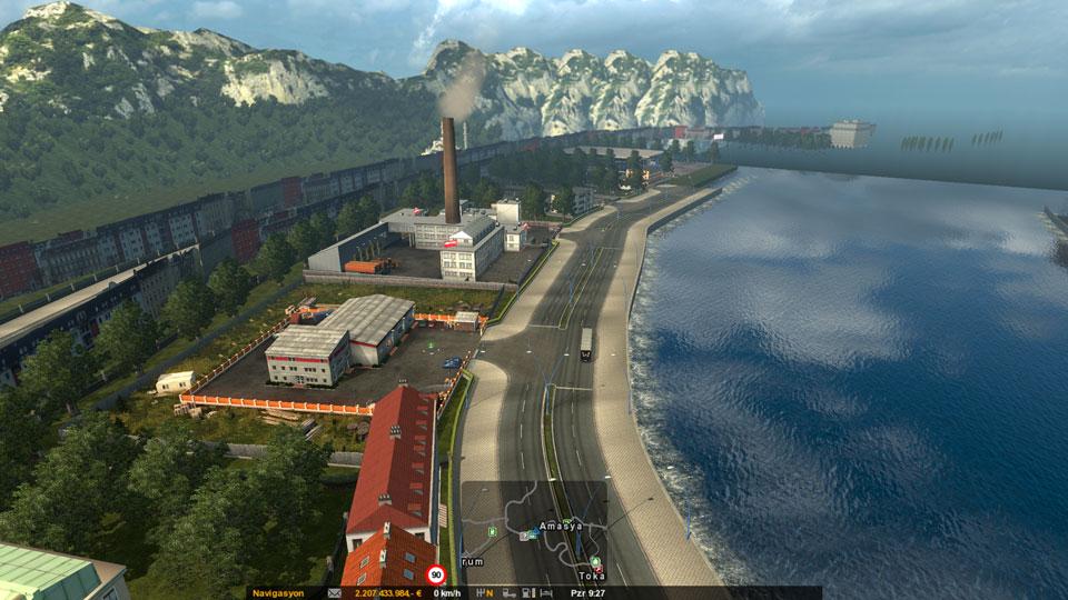 Euro Truck Simulator 2 Avrupa Turkiye Modu