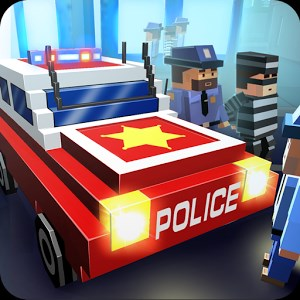 Blocky City Ultimate Police Android Apk indir