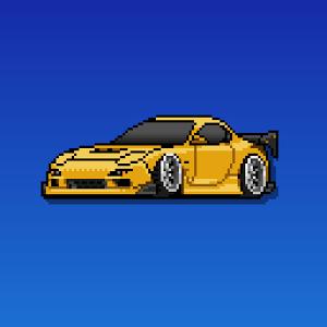 Pixel Car Racer Android Hileli Mod Apk indir