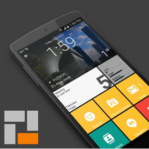 SquareHome 2 Win 10 style Android Apk indir