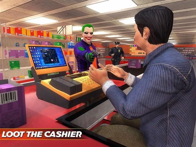 City Gangster Clown Attack 3D Apk