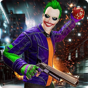 City Gangster Clown Attack 3D Android Apk indir