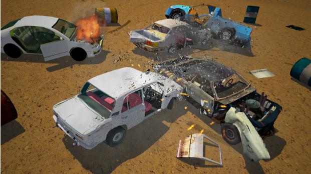 derby-destruction-simulator-hileli-apk
