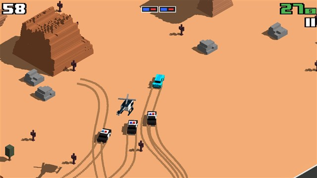 Smashy Road Wanted Hileli Apk