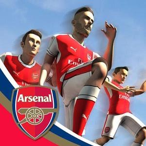 Arsenal FC Endless Football Android Hileli Mod Apk indir