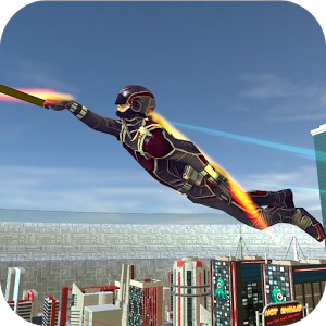 Amazing Hero Man Of Justice Android Hileli Mod Apk indir