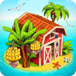 Farm Paradise Hay Island Bay Android Hileli Mod Apk indir