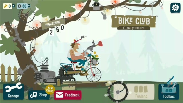 Bike Club At Big Wheelie's Android Hileli Mod Apk indir