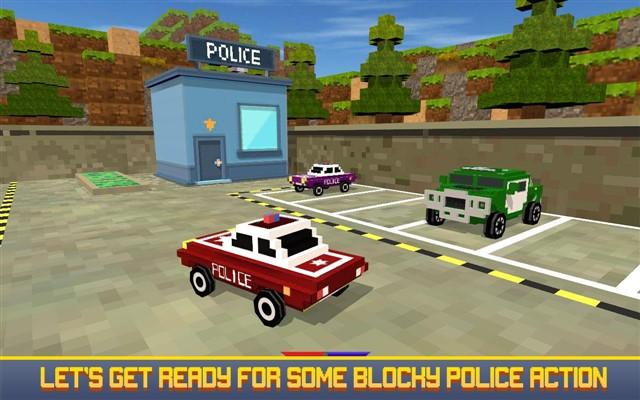 Blocky San Andreas Police 2017 Hileli Mod Apk