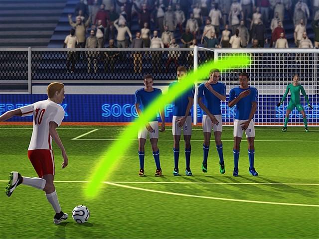Football Free Kick League Apk indir