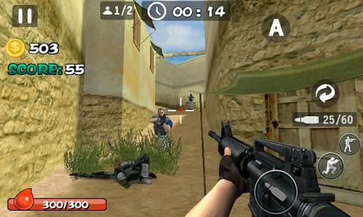 Gun Strike Blood Killer Hileli Mod Apk
