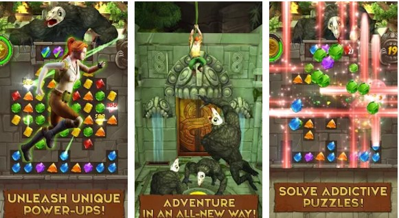Temple Run Treasure Hunters Hileli Mod Apk
