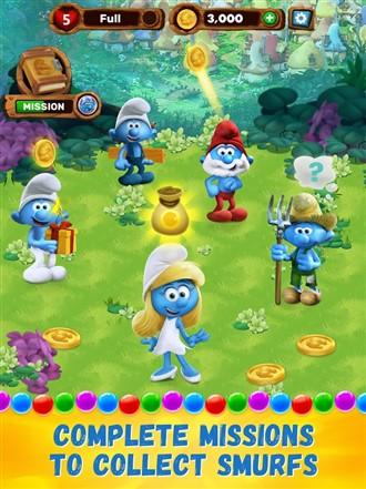 Smurfs Bubble Story Hileli Apk