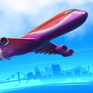 Airport City Airline Tycoon Android Hileli Mod Apk indir