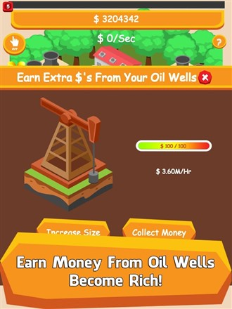 Oil Tycoon Idle Clicker Game Hileli Mod Apk
