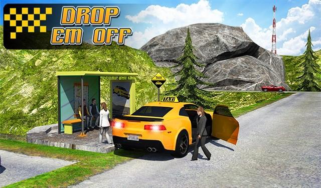 Taxi Driver 3D Hill Station Hileli Mod Apk