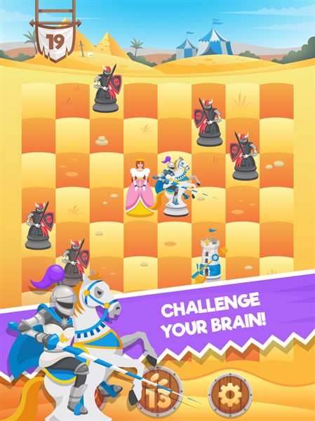 Knight saves queen hileli mod apk v1 1 0 full hile apk indir for Kitchen queen mod apk