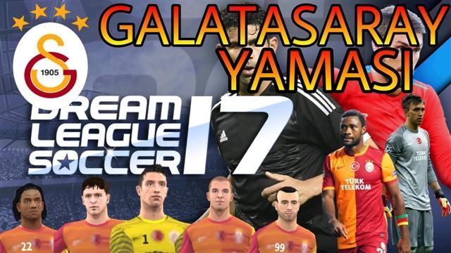 Dream League Soccer 17 Galatasaray Yaması - Forma ve Logo
