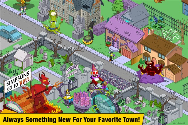 The Simpsons Tapped Out Full Hile Mod Apk