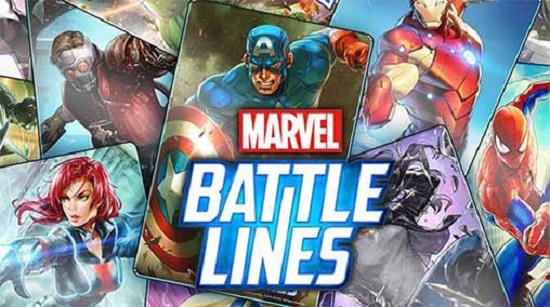 marvel battle lines full hile mod apk v150  full hile