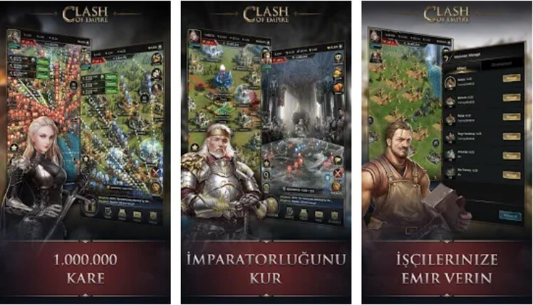 Clash of Empire Hileli Apk